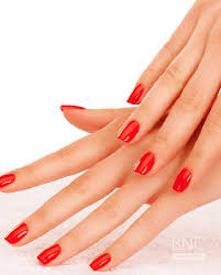 gel nails beauty nail concept