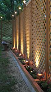 55 Lattice Fence Design Ideas Pictures Popular Types Backyard Fences Backyard Backyard Privacy