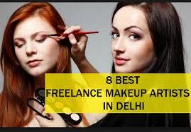 8 best freelance makeup artist in delhi