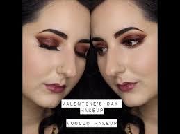 voodoo makeup valentines day look you