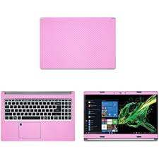 Amazon Com Decalrus Protective Decal For Acer Aspire 5 A515 54 51dj 15 6 Screen Laptop Pink Carbon Fiber Skin Case Cover Wrap Cfaceraspirea515 54pink Computers Accessories