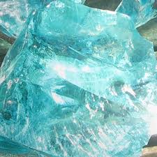 recycled glass boulders