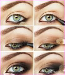 cute makeup ideas for dark brown eyes
