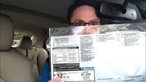 How To Buy A New Car How To Read A Window Sticker Youtube