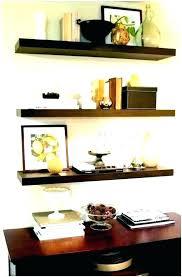living room wall shelves decorating