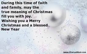 during this time of faith and family the true com