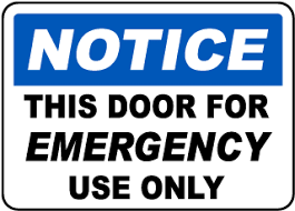 Door Warning Signs Tons Of Low Price Options Safetysign Com