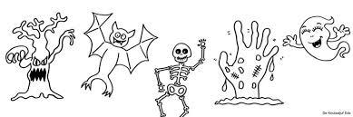 Kleurplaten Halloween Crea Met Kids