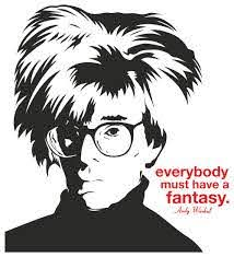 Andy Warhol Wall Sticker 44 X48 Contemporary Wall Decals By Masquevinilo