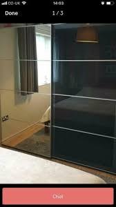 pax large sliding door wardrobe in