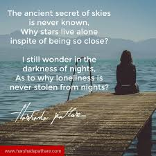 loneliness quote harshada pathare i author and contrarian thinker
