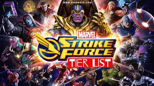 Marvel Strike Force Tier List Detailed ...
