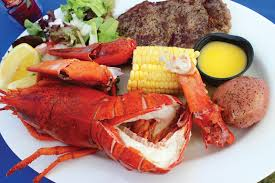 Maine lobsters ...