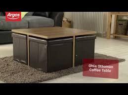 oak effect coffee table argos