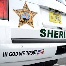 Sheriff In God We Trust Reaction Nothing But Positive News Dothaneagle Com