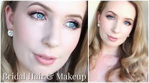 bridal hair makeup for very pale skin