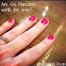 what is the average cost of gel nails