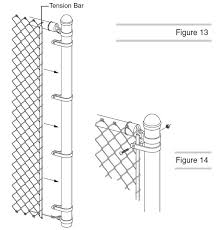 Chain Link Fence Installation Tools Processing And Tips