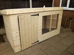 Wooden Outdoor Pen Dog Fences Exercise Pens For Sale Ebay