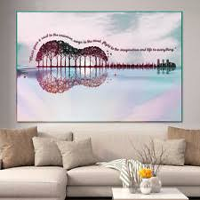 Dj Music Gives A Soul To The Universe Music Quote Wall Art Canvas No Frame For Sale Online Ebay