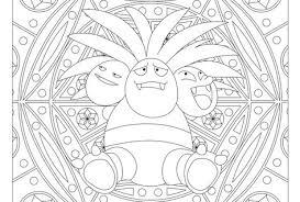 103 Exeggutor Pokemon Coloring Page Kleurplaten Knutselen Ideeen