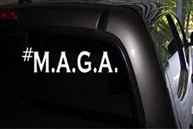 Amazon Com M A G A Make America Great Again Republican Decals Stickers Bumper Window Trump 2 8 X 6 Automotive