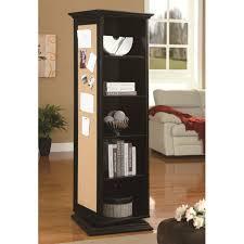 cork board cabinet tall storage swivel