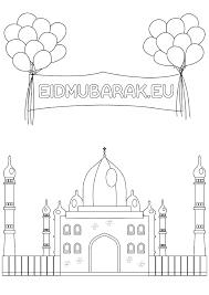 Gratis Islamitische Eid Kleurplaten Islamboekhandel Nl