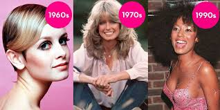 beauty trends from 60s 70s 80s