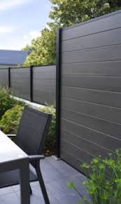 Composite Fence Panel Kit H 0 9m 5052931059973 Modern Fence Design Modern Front Yard Fence Design