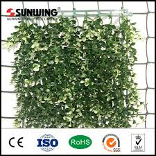 China Cheap Artificial Ivy Boxwood Grass Fence Garden Decoration China Fencing And Fence Price