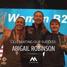 Celebrating our success: Abigail Robinson – Womenclimb