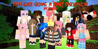 TEEN GIRL SKINS: A DISCUSSION Minecraft ...