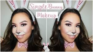 simple bunny makeup saubhaya makeup