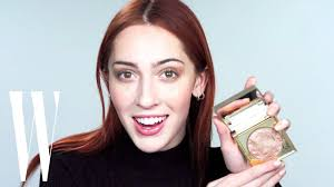 Model Teddy Quinlivan's Extremely Sassy 6-Minute Makeup Tutorial | W  Magazine - YouTube