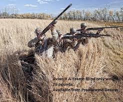 Prairiewind Decoys Free Shipping A Frame Blind By Avian X Decoys Zinks Calls