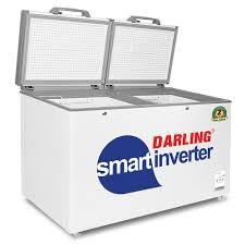 Tủ đông mát Darling smart Inverter - Darling Việt Nam, TỦ ĐÔNG MÁT THÔNG  MINH DARLING 2 NGĂN 450L