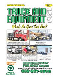 Truck And Equipment Post Issue 12 13 2020 By 1clickaway Issuu