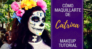 catrina makeup tutorial day of the