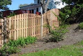 How To Build A Diy Fence On A Slope The Fence Authority