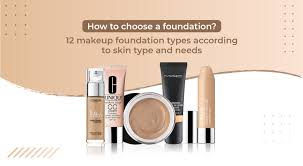 12 makeup foundation types according to