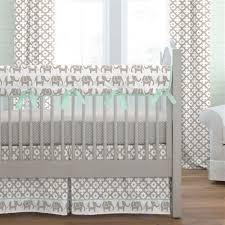 elephant crib bedding carousel designs