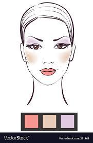 makeup royalty free vector image