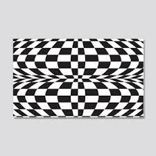 Optical Illusion Wall Decals Cafepress