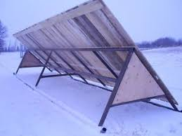Movable Shelter For Fields Wind Break Shelter Finding A House