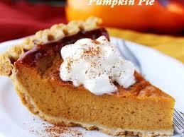 easy pumpkin pie recipe healthy