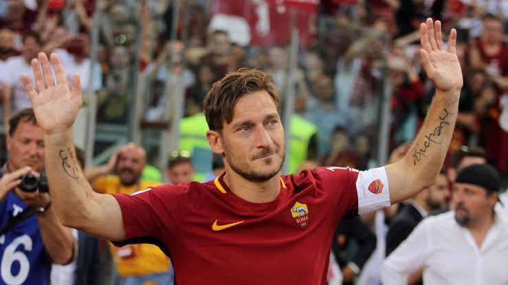 "Image result for Francesco Totti Roma"""