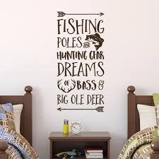 Fishing Poles And Hunting Gear Dreams Of Bass And Big Ole Deer