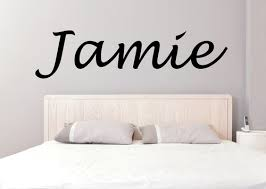 Casual Cursive Kids Name Wall Sticker For Kids Room Kelly S Vinyl
