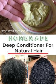 homemade deep conditioner for natural hair
